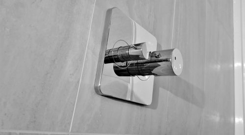 Sparkling shower controls newly installed