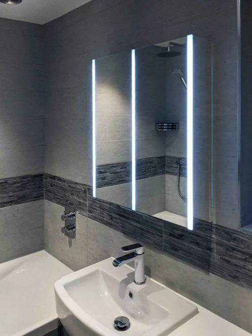 Illuminated Bathroom Cabinet